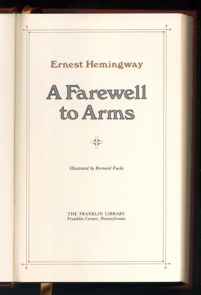 a farewell to arms by drew garland essay A farewell to arms rain symbolism in a farewell to arms, ernest hemingway attempts to tell the unvarnished truth about war — to present an honest, rather than a heroic, account of combat, retreat, and the ways in which soldiers fill their time when they are not fighting.