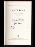 As It Was (Signed copy)