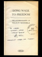 Long Walk to Freedom (Signed copy)