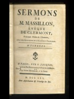Sermons de M. Massillon