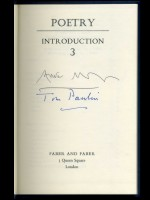 Poetry Introduction 3 (Signed copy)
