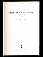 Theory in Archaeology