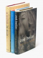 Three ZOE HELLER signed first editions