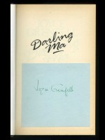 Darling Ma, Letters to her Mother 1932–44 (Signed copy)