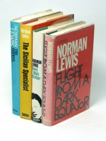Eight NORMAN LEWIS fiction first editions