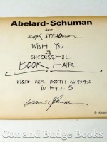 Abelard-Schuman 1973 Book Fair Flyer