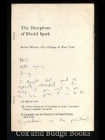 The Deceptions of Muriel Spark (Signed copy)