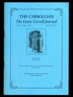 The Carrollian No 8; Autumn 2001
