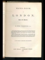 Hand-Book of London, Past and Present