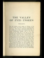 The Valley of Eyes Unseen