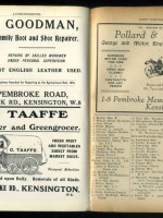 Kelly's Directory of Kensington 1925