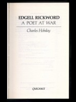 Edgell Rickword, A Poet at War