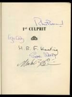 1st Culprit, A Crime Writers' Annual (Signed copy)