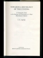 Towards a Sociology of the Cinema
