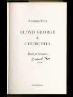 Lloyd George & Churchill, Rivals for Greatness (Signed copy)