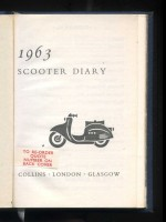 Collins Scooter Diary 1963