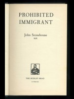 Prohibited Immigrant (Signed copy)