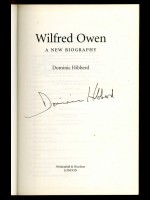 Wilfred Owen, A New Biography (Signed copy)