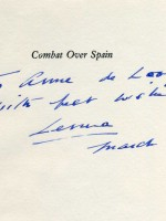 Combat over Spain (Signed copy)