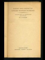 Six books by / about Gerard Manley Hopkins