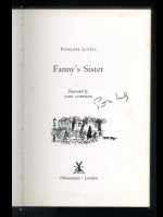 Fanny's Sister (Signed copy)
