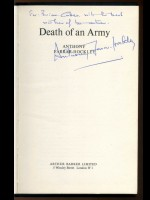 Death of an Army (Signed copy)