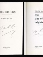 Three Colum McCann signed paperbacks