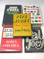 Five John O'Hara first editions