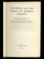 Nietzsche and the Ideals of Modern Germany