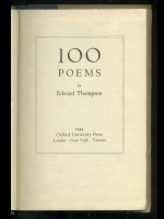 100 Poems (Signed copy)