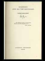 Somerset and All the Maughams (Signed copy)