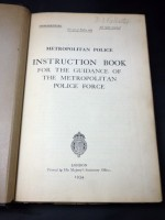 Instruction Book for the Guidance of the Metropolitan Police Force