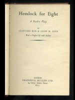 Hemlock for Eight, a Radio Play (Signed copy)