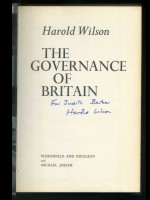 The Governance of Britain (Signed copy)