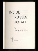 Inside Russia Today (Signed copy)