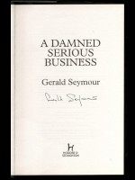 A Damned Serious Business (Signed copy)