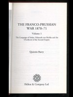 The Franco-Prussian War 1870–71 (Signed copies)