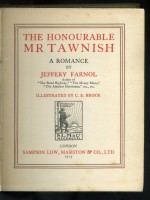 The Honourable Mr Tawnish (Signed copy)