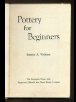 Pottery for Beginners (Signed copy)