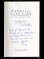 Hands in a Live Fire (Signed copy)