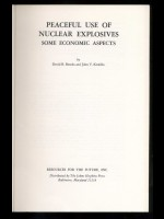 Peaceful Use of Nuclear Explosions