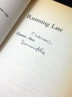 Running Late (Signed copy)