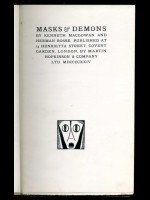 Masks and Demons