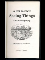 Seeing Things, An Autobiography (Signed copy)