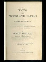 Songs of a Moorland Parish with Prose Sketches