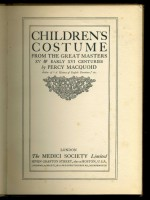 Children's Costume from the Great Masters