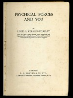 Psychical Forces and You (Signed copy)