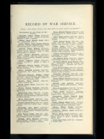 London County Council, Record of Service in the Great War 1914–1918