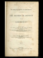 Records of Denbigh and its Lordship, Volume 1