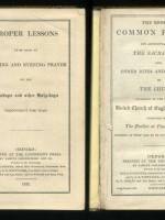 The Book of Common Prayer and Proper Lessons
